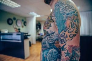 Brett Talks Scars, Lego and Music (And Tips for Planning a Tattoo Sleeve)